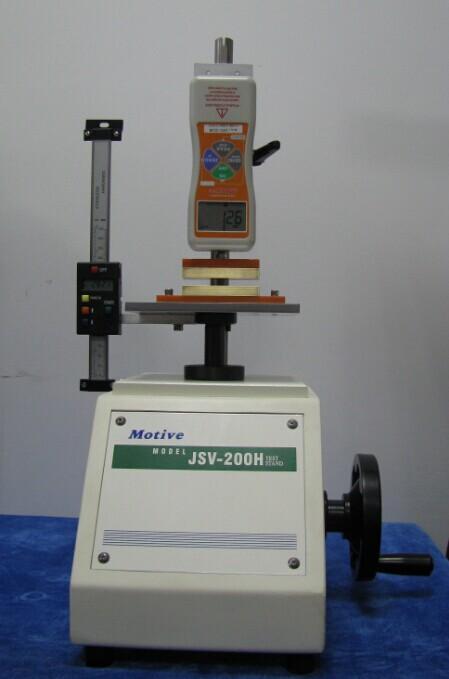 推拉力计测试机台导电棉压力测试案例